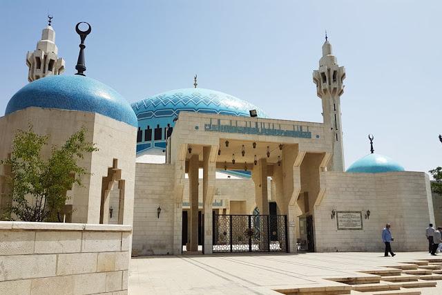 Exterior de la Mezquita del Rey Abdala