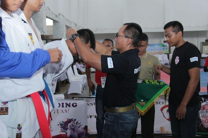 Kasdivif I/Kostrad Tutup Kejuaraan Karate HUT Kostrad Ke-57