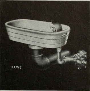 Haws drinking fountain