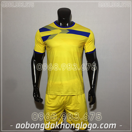 Áo Bóng Đá Ko Logo F50 Adi màu xanh vàng