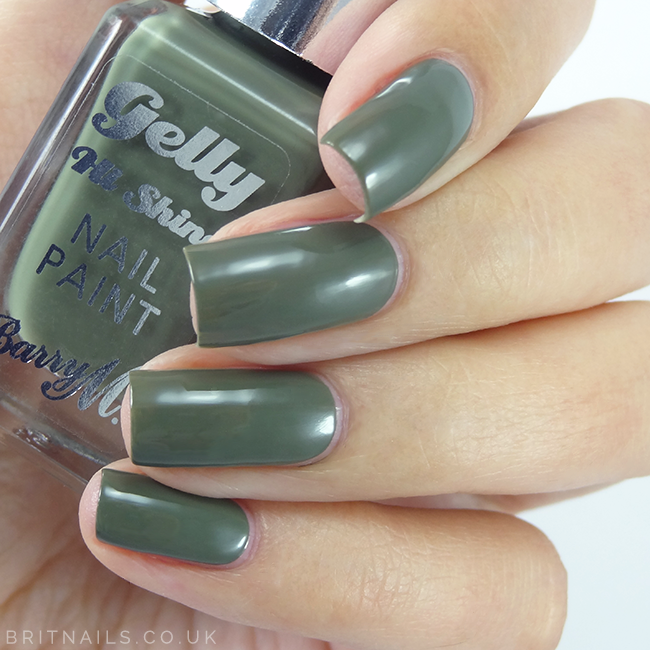 Barry M Blue Matcha