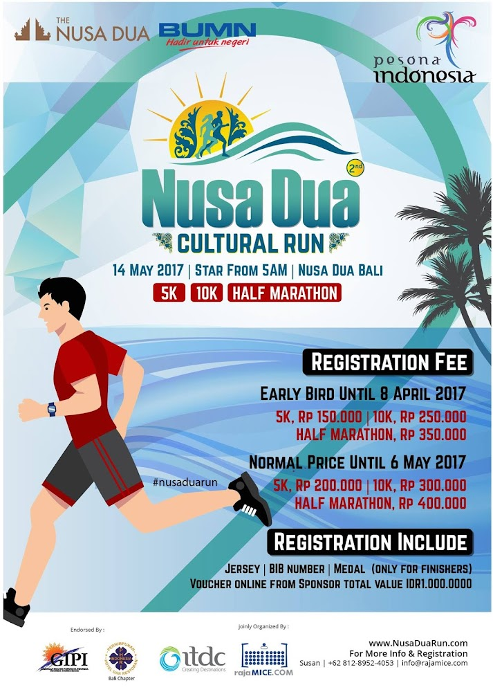 Nusa Dua Cultural Run • 2017