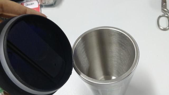 Meus Recebidos da Loja Geek10 copo térmico