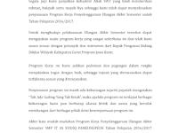 Download Penyusunan Program Kerja Penyelenggaraan Ulangan Akhir Semester untuk Tahun Pelajaran 2016/2017