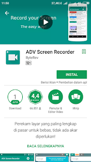 Aplikasi Adv Screen