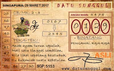PREDIKSI TOGEL SINGAPORE RABU