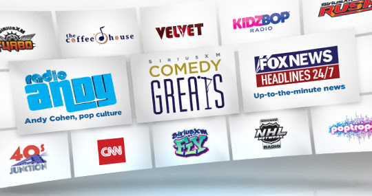 Sirius-XM Channels Changing in Early August