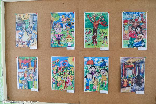 台中大雅|麥根小學堂|大雅區環保皂工作坊|小麥彩繪牆|泰式彩繪大象溜滑梯