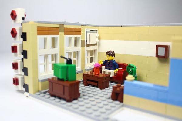 理髮廳二樓的家居環境