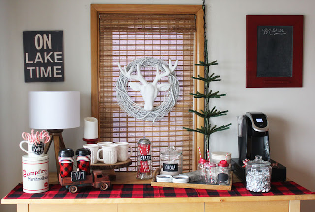 Christmas Cocoa Coffee Bar- Itsy Bits And Pieces