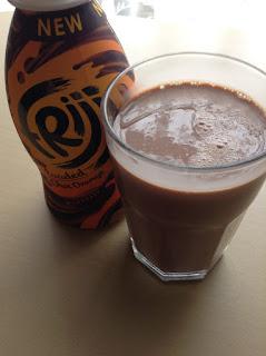 Frijj loaded Choc orange milkshake