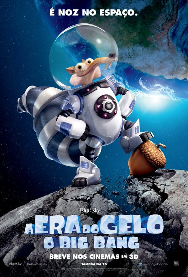 A Era do Gelo: O Big Bang 3D Torrent – BluRay 1080p Dual Áudio (2016)