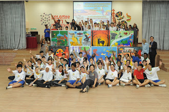 Lukisan Mural Bertemakan Kemerdekaan bersama Malaysian NAÏVE Artist Yusof Gajah dan Pelajar Sekolah Beaconhouse Sri Lethia