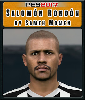 PES 2017 Faces Salomón Rondón by Sameh Momen