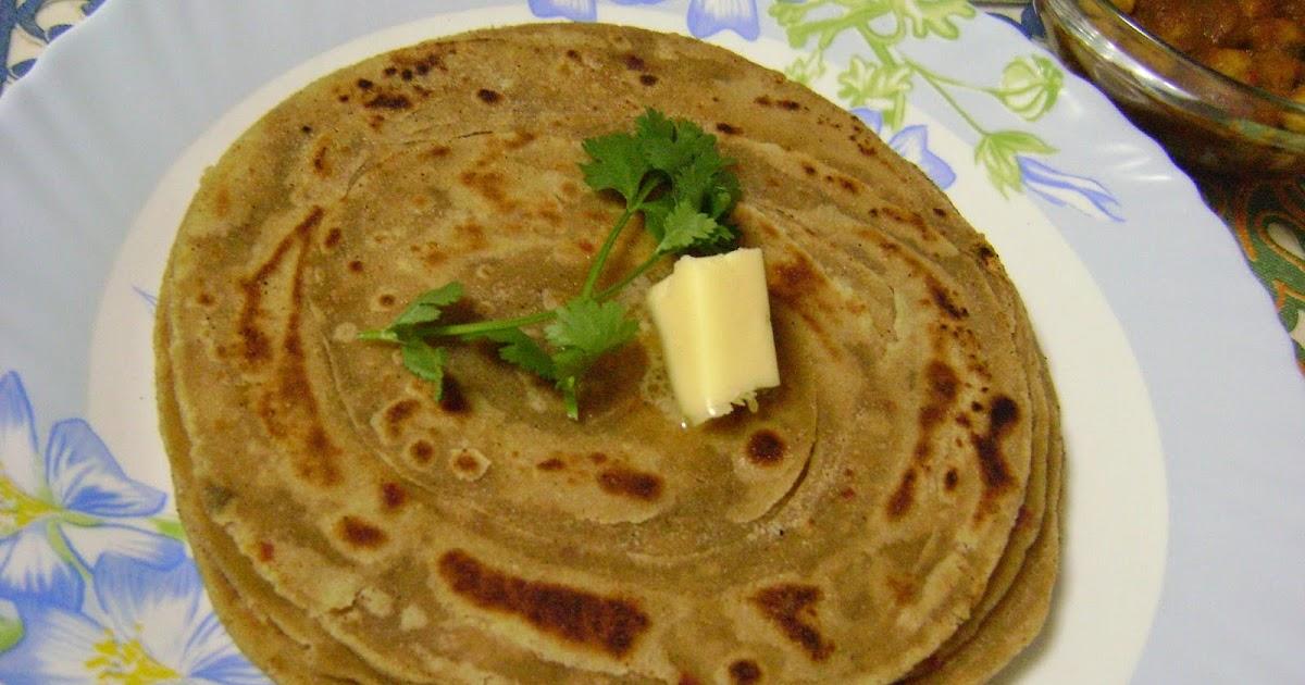 ... Flavours: Lachcha Paratha (Flaky & Layered Flat Bread - Punjabi Style