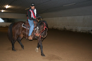 Horse trainer Kevin Spaeth Horsemanship Clinic Image