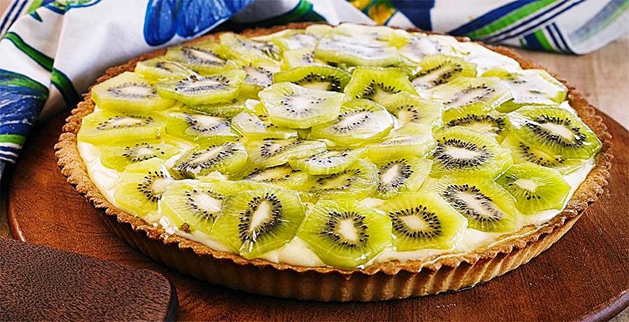 Receita: Torta de Kiwi 🥝