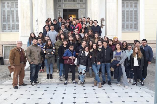 Το Μουσικό σχολείο Αργολίδας επισκέφθηκε την Τουριστική Σχολή ΙΕΚ Πελοποννήσου στο Άργος