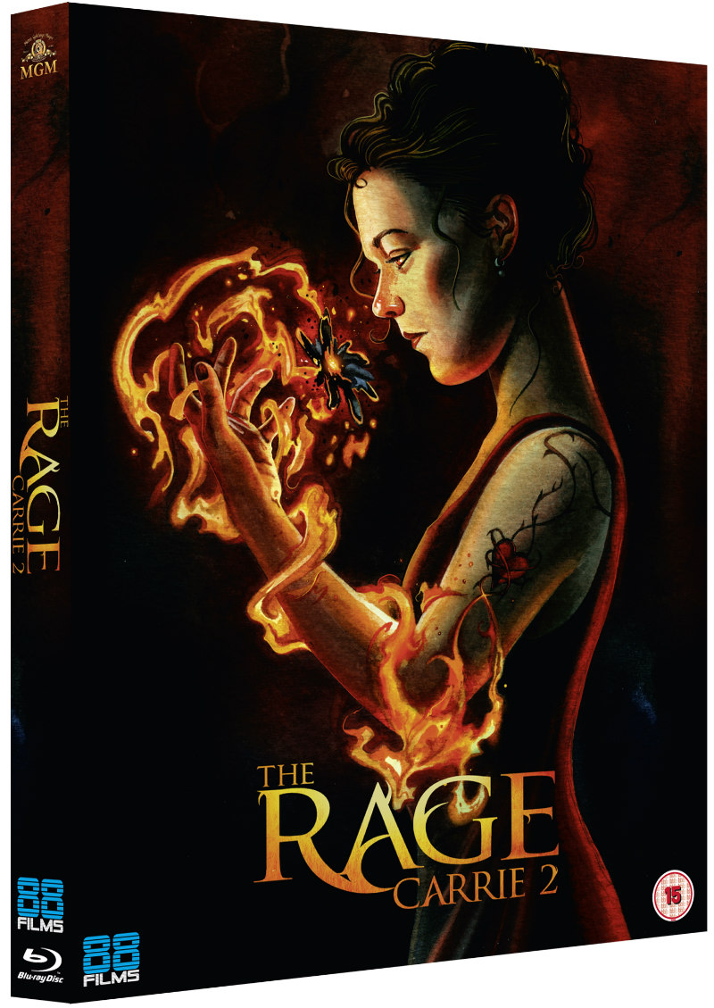 the rage carrie 2 88 films bluray
