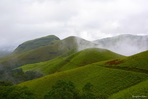 Kudremukh lush green mountains 4