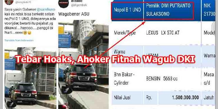 Heboh Fitnah Ahoker Foto Mobil B-1-UNO, Ternyata Pemiliknya Dwi Putranto