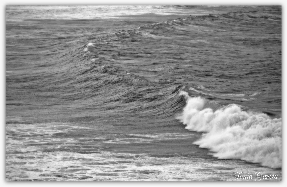 Galicia Milenaria: Un paseo en blanco y negro por el Mar