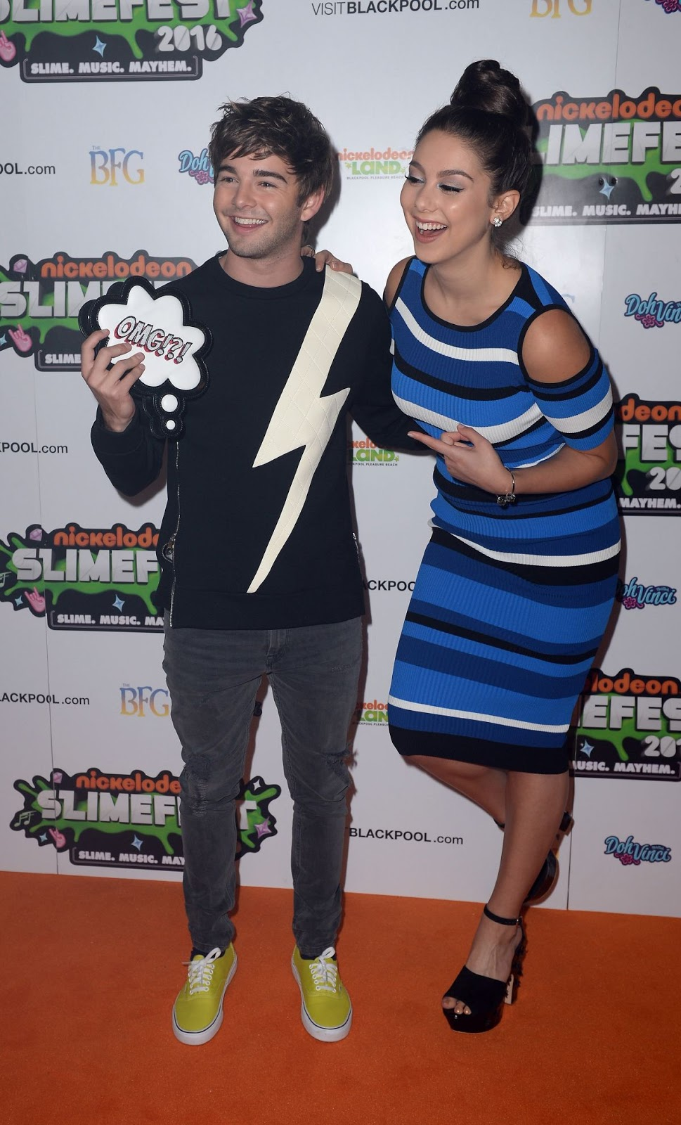 Kira Kosarin At First UK Nickelodeon Slimefest In Blackpool