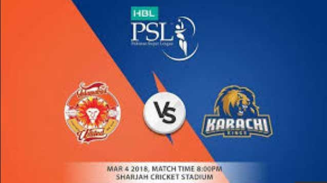 live united vs kings live psl 3