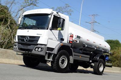 Caminhões Atego da Mercedes-Benz vão operar na mineração nas Filipinas