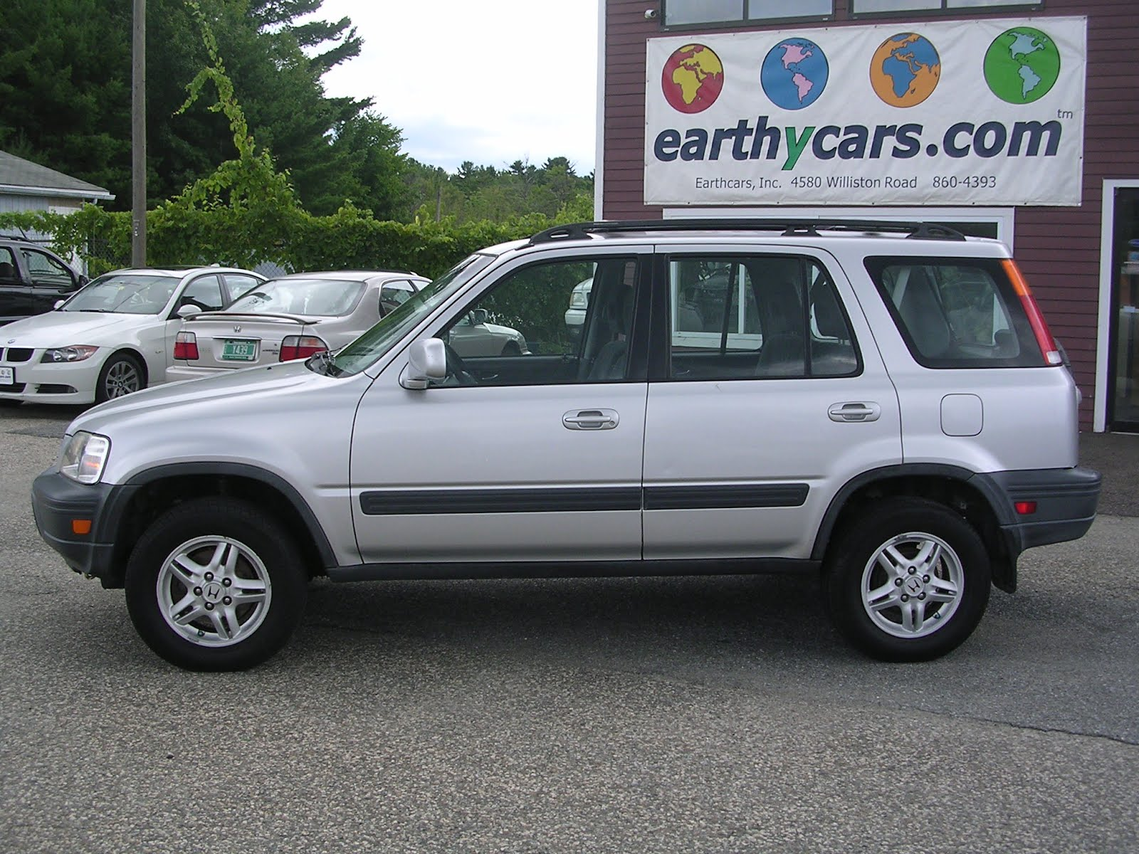 earthy cars blog earthy car of the week silver 2000 honda cr v ex suv. Black Bedroom Furniture Sets. Home Design Ideas