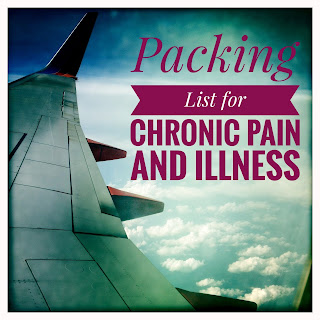 Packing List for Chronic Pain and Illness
