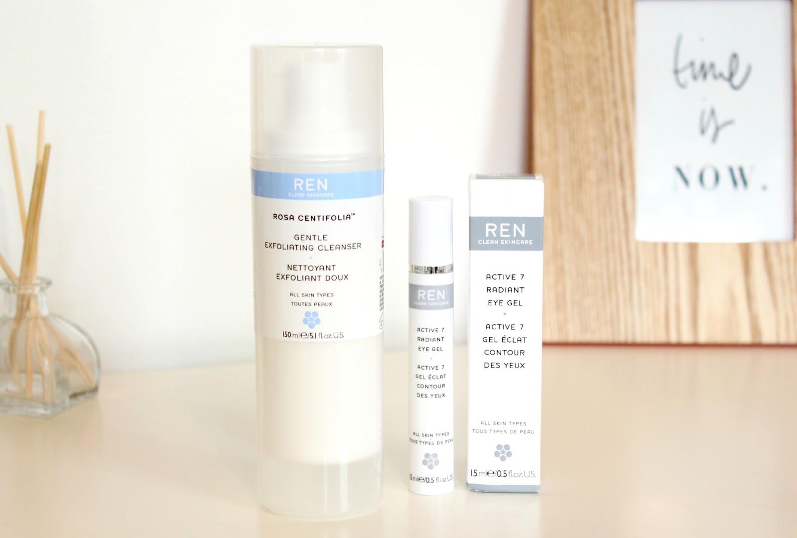 Ren Skincare Rosa Centifolia Exfoliating Cleanser Active 7