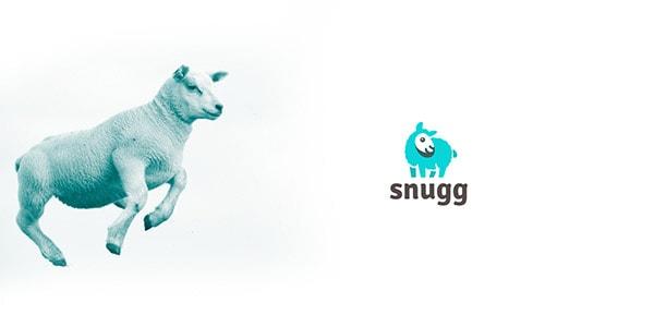 Inspirasi Desain Logo Kreatif 2017 - Sheep Snugg Logo
