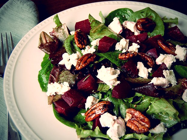 Peaks Coaching Group Beet Salad Goat Cheese