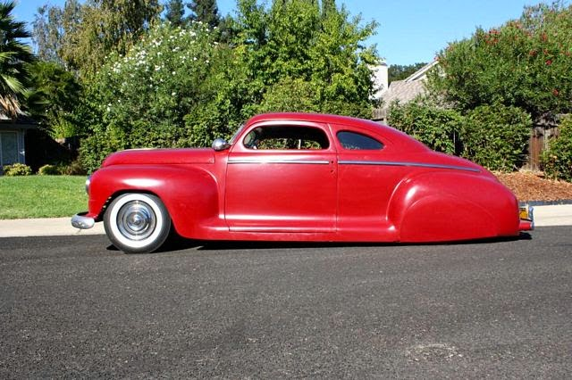 RodCityGarage 1948 Plymouth Coupe Led Sled