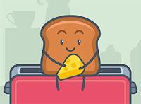 لعبة الخبز والمتاهه