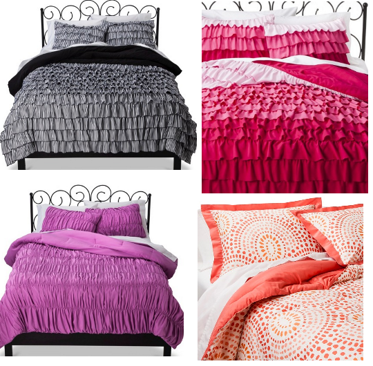Awesome Target Comforters Set Sale Xhilaration Ruffle Comforter Set Full Queen Threshold Geo Scallop Print Comforter Set Full Queen King