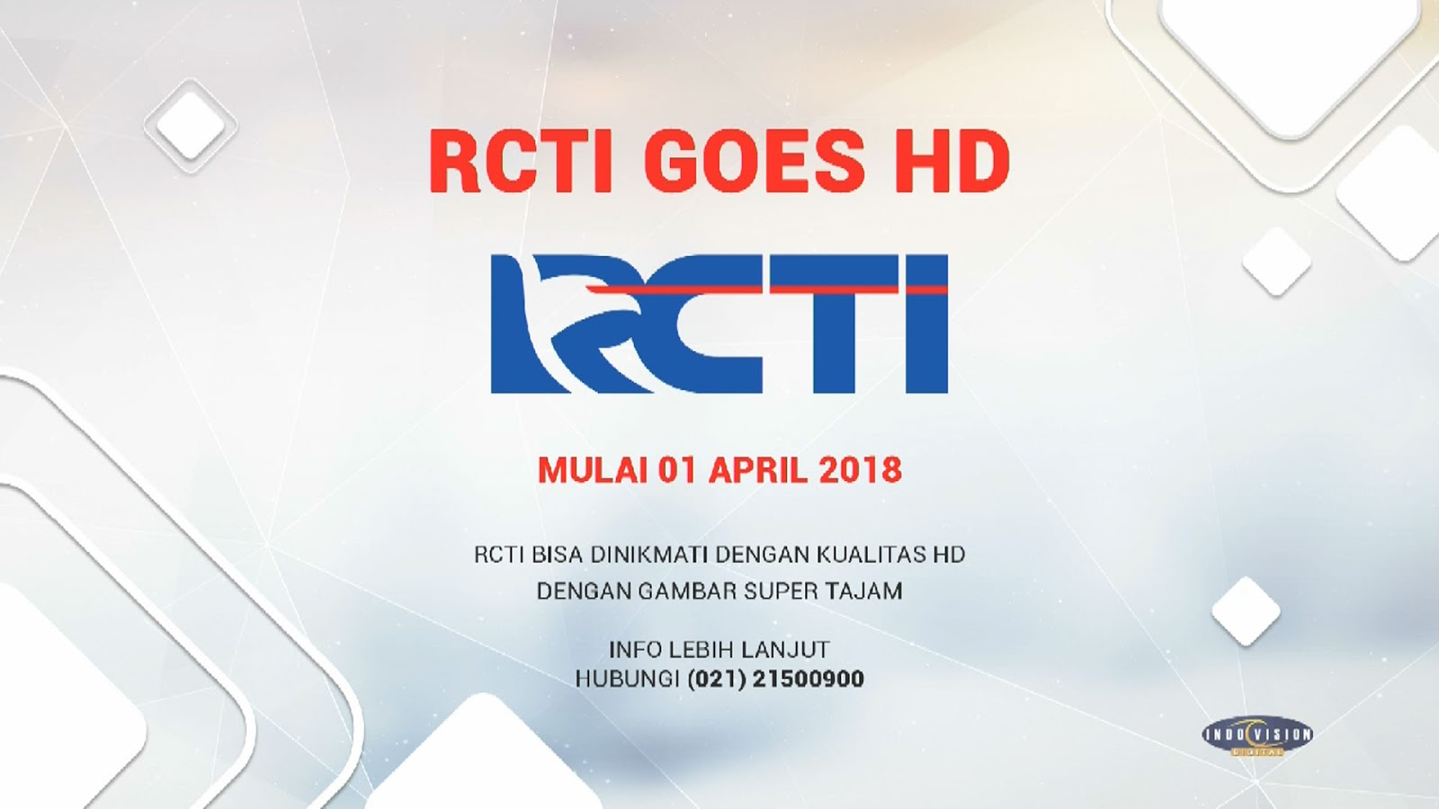 Nonton RCTI HD di Parabola Indovision MNC Vision
