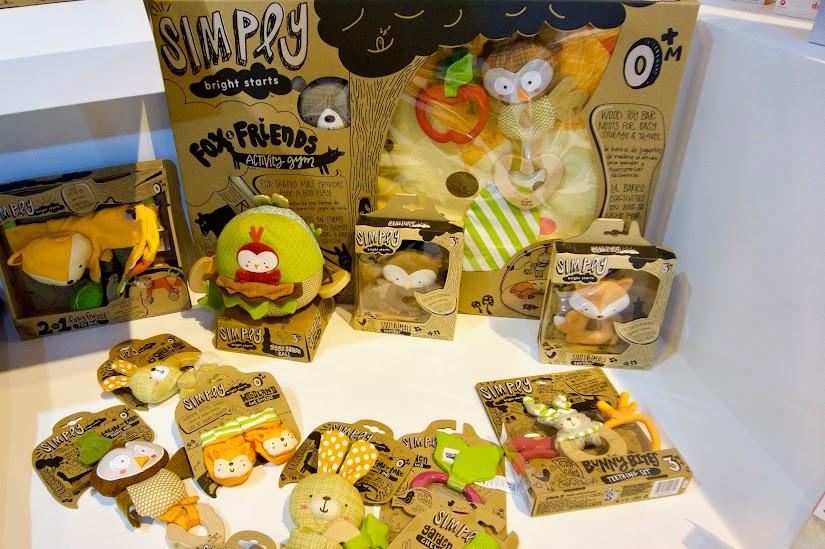 Juguetes colección Simply de la marca Bright Starts de Kids II