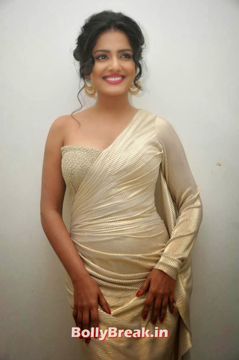 , Vishaka Singh Hot Pics in Sexy Dress Without Sleeves