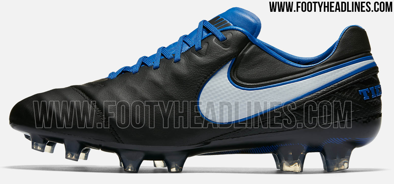 nike football blue all white nike boots