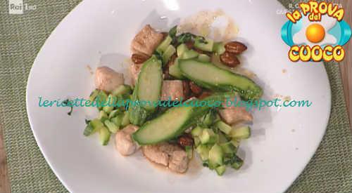 Bocconcini di tacchino con zucchine mandorle e limone ricetta Marretti da Prova del Cuoco
