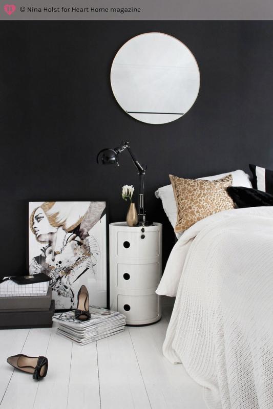 pintar pared de negro