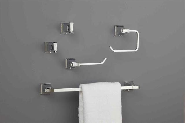 bathroom fixtures towel bars