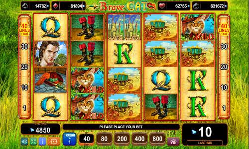 Joaca acum Brave Cat Slot Online