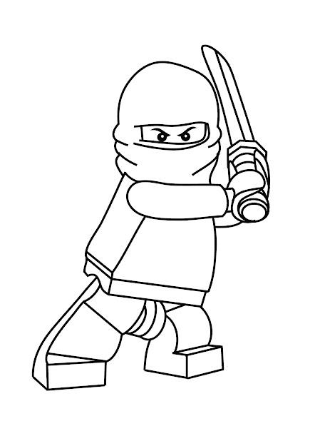 Free Printable Ninjago Coloring Pages For Kids