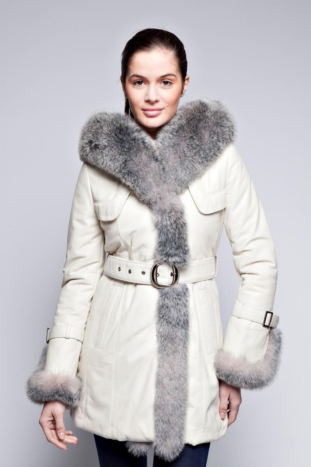 le manteau en fourrure eko blanc pour femme manteau. Black Bedroom Furniture Sets. Home Design Ideas