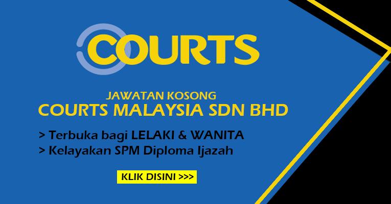 Jawatan Kosong Terbaru di Courts Malaysia Sdn Bhd