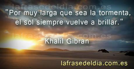 Frases motivadoras de Khalil Gibran