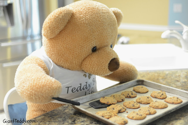 Giant Teddy Bear Cookie Baker